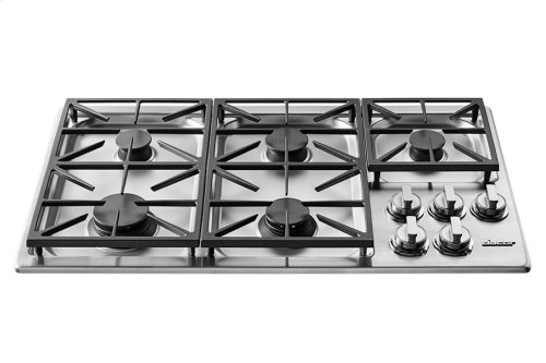 """Heritage 36"""" Professional Gas Cooktop, Natural Gas"""