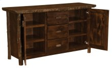 Sideboard - Natural Hickory