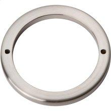 Tableau Round Base 3 Inch - Brushed Nickel