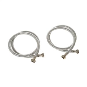 2 PK - Stainless Steel 4 ft Hoses -