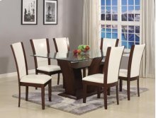 HOT BUY CLEARANCE!!! Camelia 7 Piece Dining Room Set Table & 6 Chairs
