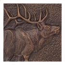 """Elk 8"""" X 8"""" Indoor Outdoor Wall Décor - Antique Copper Product Image"""