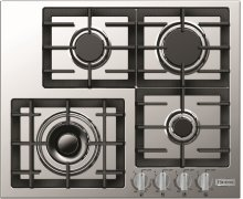 "Stainless Steel 24"" Gas Cooktop - Designer Series"