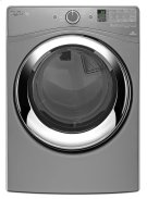 7.4 cu. ft. Duet® Steam Dryer with Wrinkle Shield Plus Option with Steam Product Image