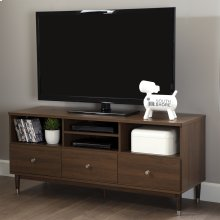 TV Stand for TVs up to 60'' - Brown Walnut