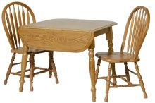"Laminated Leg Table w/2-9"" Drop Leaves"
