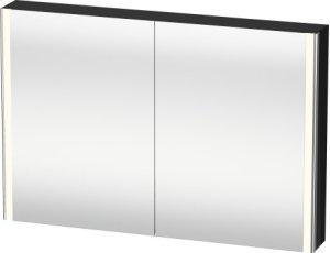 Mirror Cabinet, Black High Gloss Lacquer