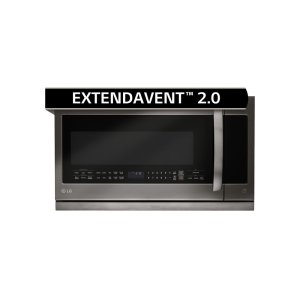 LG AppliancesLG Black Stainless Steel Series 2.2 cu.ft. Over-the-Range Microwave Oven