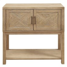 Hager Console and Cabinet in Natural