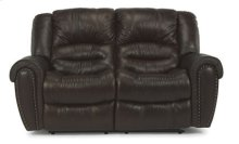 Crosstown Leather Power Reclining Love Seat