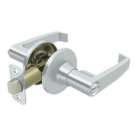 Linstead Lever Privacy - Polished Chrome