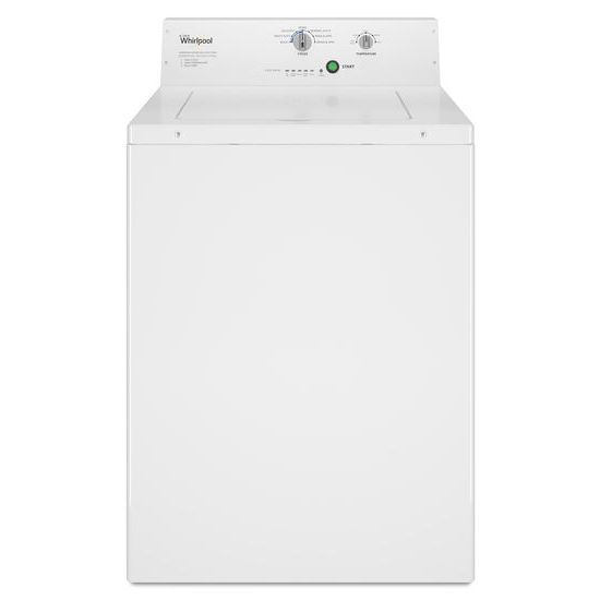 Whirlpool(R) Commercial Top-Load Washer, Non-Vend - White  WHITE