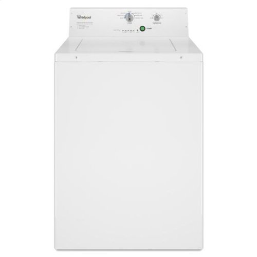 Whirlpool® Commercial Top-Load Washer, Non-Vend - White