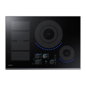 "Samsung Appliances30"" Induction Cooktop in Black"