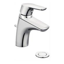 Method chrome one-handle bathroom faucet