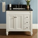 """Crosswinds 36"""" Vanity Drawer-Right - White Product Image"""