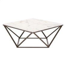 Tintern Coffee Table Stone & A. Brass