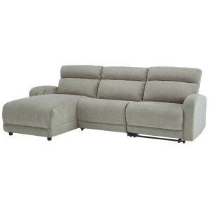Ashley ASHLEY MILLENNIUMColleyville 3-Piece Power Reclining Sectional With Chaise