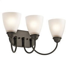 Jolie Collection Jolie 3 Light Bath Light OZ