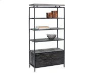 Norwood Bookcase - Black Product Image