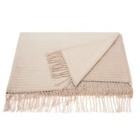 "Throw Sz007 Beige 50"" X 70"" Throw Blankets Product Image"