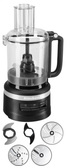9 Cup Food Processor Plus - Black Matte