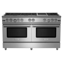 "60"" RNB Series Range with 12"" Charbroiler"