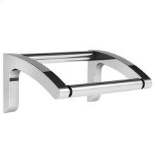 Single loo roll holder