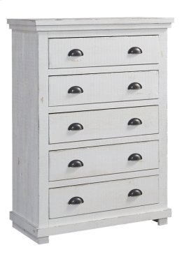 Chest - Distressed White Finish