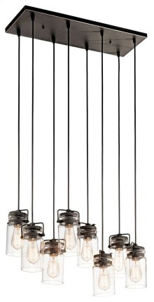 Brinley 8 Light Pendant Olde Bronze®