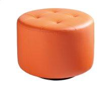Domani Swivel Ottoman Large - Orange