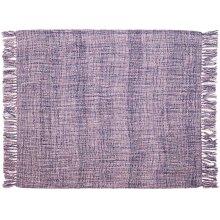 "Throw T1123 Lavender 50"" X 60"" Throw Blankets"
