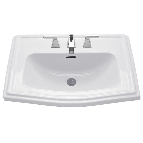 Clayton® Self Rimming Lavatory - Colonial White