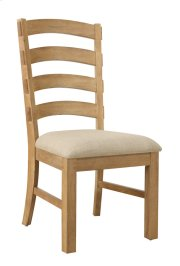 Side Chair Ladderback W/uphol Seat 2 Per Carton Product Image