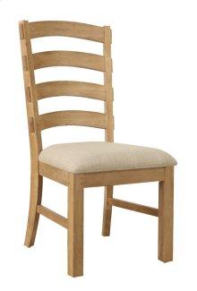 Side Chair Ladderback W/uphol Seat 2 Per Carton
