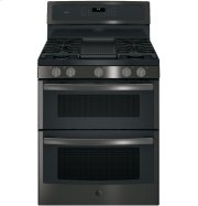 """GE Profile™ Series 30"""" Free-Standing Gas Double Oven Convection Range Product Image"""