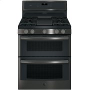 "GE Profile™ Series 30"" Free-Standing Gas Double Oven Convection Range Product Image"