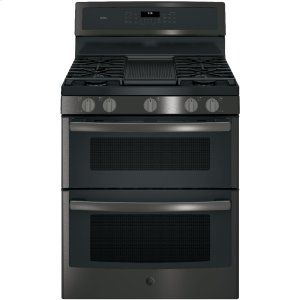 "GE ProfileGE PROFILEGE Profile(TM) Series 30"" Free-Standing Gas Double Oven Convection Range"