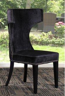 Modrest Alto - Modern Black Fabric Dining Chair