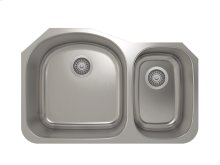"Stainless steel kitchen sink With rounded corners [3,5""]"
