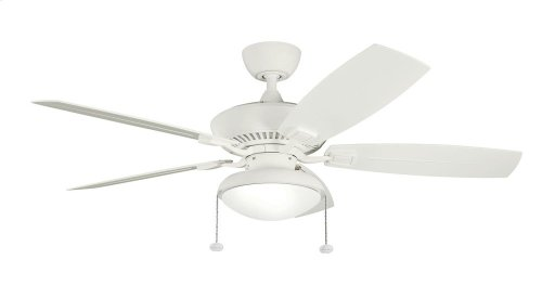 """Canfield Climates 52"""" Fan Satin Natural White"""