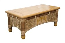 Coffee Table, Available in Natural Finish Only.