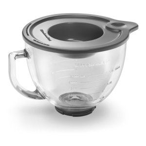 KITCHENAID4.7 L Tilt-Head Glass Bowl with Measurement Markings & Lid - Other