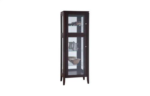 Newport 1 Door Curio Cabinet