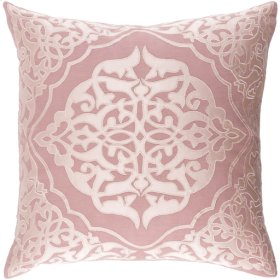 "Adelia ADI-002 18"" x 18"" Pillow Shell with Polyester Insert"