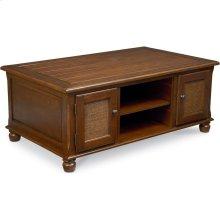 Ellie Storage Coffee Table (Cherry)