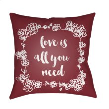 "Love All You Need QTE-045 20"" x 20"""