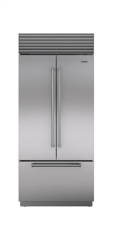 "36"" Built-In French Door Refrigerator/Freezer with Internal Dispenser"