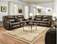 Double Reclining Sofa with 2 Seats
