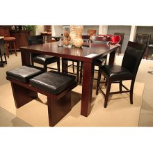 Milton 6 Pc Counter Set with Bench